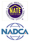 NATE Certified / NADCA