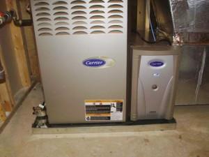 Energy-efficient Carrier HVAC unit